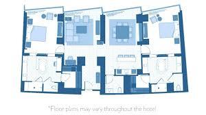 Bellagio 2 Bedroom Penthouse Suite Property Simple Design Ideas