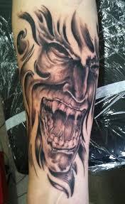 Demon Tattoo Projekty Na Vyzkoušení Tetování A Anděl