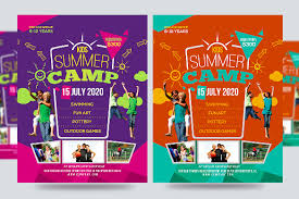 Summer Camp Flyer Template Custom 44 Summer Camp Flyer Templates Free JPG PSD ESI InDesign