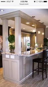 Latest Designs In Kitchens Mesmerizing We Love This Take On An Kitchen Island We Like The Different