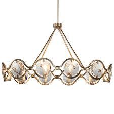 crystorama lighting group quincy ten light distressed twilight chandelier