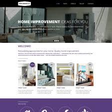 40 Best Home Remodeling Website Templates Stunning Home Interior Design Websites Remodelling