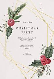 Sample Of Christmas Party Invitation Christmas Party Invitation Templates Free Greetings Island