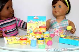 diy american girl play doh craft doll
