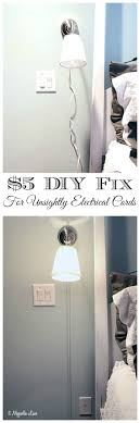 How to hide unsightly electrical cords | 11 Magnolia Lane