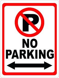 Parking Sign Template Dalefinance Com