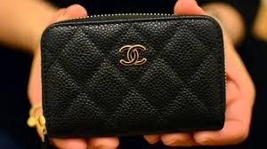 chanel zip card case. chanel zip card case u