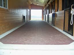 horse stall flooring designs options for stall bedding