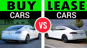 buy lease cars buy vs lease pros cons youtube