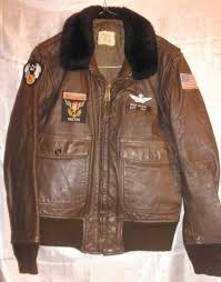 us air forces vietnam period pilot leather flying jacket g1 navy type