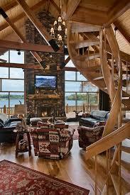 mh6 Log Cabin Interior Design: 47 Cabin Decor Ideas