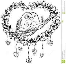cute love bird drawing. Unique Bird Cute Love Birds Drawings On Cute Love Bird Drawing W