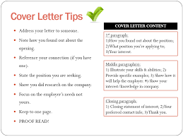 Resume What To Put In A Cover Letter For A Resume Best