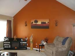 Orange Living Room Accessories Rug 5u0027x7u0027 Hand Tufted Brown And Orange Living Room Shaggy