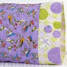 Pillowcase Pattern 25: Bubbles Applique Band | Vote: One Million ... & Fabric: Tend the Earth by Deb Strain for Moda Fabrics. Pillowcase Pattern  25. Adamdwight.com