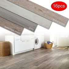 details about self adhesive vinyl planks hardwood wood l n stick floor tiles 16 pieces