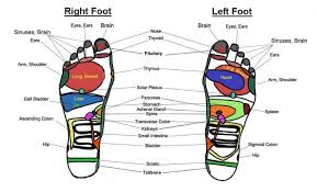 Top Of Foot Reflex Chart Top Benefits Of Reflexology Your First Step To A Foot