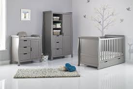 grey nursery furniture. stamford grey three piece nursery furniture set