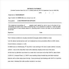Witness Declaration Template Mobile Discoveries