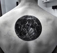 30 Reálný Měsíční Vzory Tetování Pro Muže Astronomické Nápady