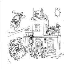 25 Idee Lego Duplo Politiebureau Kleurplaat Mandala Kleurplaat