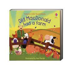 Old MacDonald Had a Farm Little Board Book Lesley Sims | Product sku  B-201156