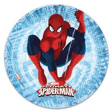 Edible Cake Topper Spiderman Seated Décorelief