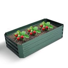 outsunny 47 x24 raised garden bed