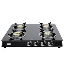 hardwyn toughened glass 4 burner cooktop gas stoves gas stoves kitchen appliances pepperfry