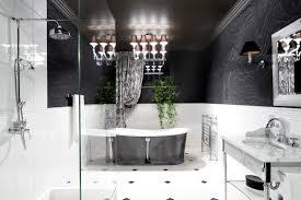Black And White Bathroom Black White Bathroom Interior Design Ideas