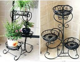 indoor flower stand 3 pots balcony and indoor flower pot holder garden flower stand iron flower indoor flower stand post indoor flower pot stands