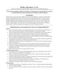 Resume Format For Social Worker Social Work Resume Examples Sample