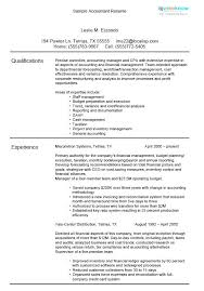 Resume Format For Accountant New Accounting Bookkeeping Resume Samples Sample Resumes Accountant