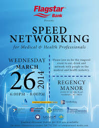 networking flyer speed networking for medical health professionals steward media