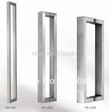 push door handles. Delighful Door Modern Premium Door Handles Pull  Push Stainless Steel Entrance Square  Tubing Back To Handle On Aliexpresscom  Alibaba Group With