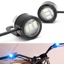 Motorcycle Strobe Lights 2pcs Led Eagle Eye Lamp Strobe Flash Drl Bicycle Motorcycle Car Atv Light