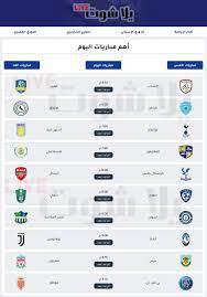 مواعيد أهم مباريات اليوم الأربعاء 19-5-2021 والقنوات الناقله