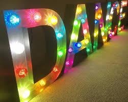 The Range Disco Light Bulb Light Up Dance Marquee Letter Disco Bulbs Or Any Bulb Option