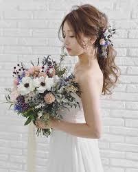 ポニーテールアレンジの花嫁ヘアスタイル 結婚式情報大学