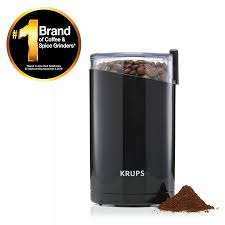 The most common bar coffee grinder material is metal. Krups Fast Touch Electric Coffee And Spice Grinder With Stainless Steel Blades F2034251 Walmart Com Walmart Com