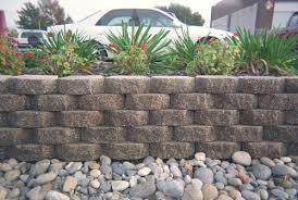 bwood material keystone garden wall