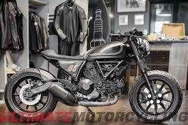 ducati scrambler custom scene grows at verona bike expo