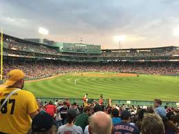 Fenway Park Section Bleacher 41 Home Of Boston Red Sox