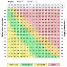 Female Child Bmi Chart Www Prosvsgijoes Org