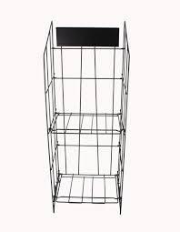 Image Display Rack Picture Of Ebay Display Bulk Newspaper Magazine Metal Wire Rack Catalog Stand 11562
