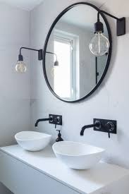 black and white bathroom accessories. Beautiful Black Bathroom Marble Tiles Black And White Industrial Concept Of  Accessories Throughout