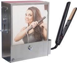 hair straightener vending unit