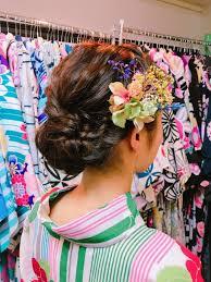 花火大会で浴衣レンタルをした時に似合うショートの髪型