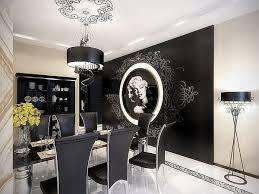 modern dining room black and white. stylish black and white dining room designs modern