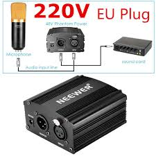 xlr plug wiring reviews online shopping xlr plug wiring reviews neewer eu plug 220v 1 channel 48v phantom power supply adapter one xlr audio cable for any condenser microphone recording